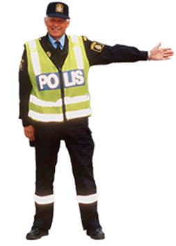 polismans tecken